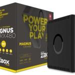 ZOTAC MAGNUS ERX480 — первый в мире игровой мини-ПК с графической картой AMD Radeon