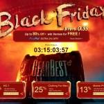 Чёрная пятница уже стартует на GearBest