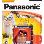 """Panasonic продолжает выпуск лимитированной серии батареек """"Angry Birds в кино"""""""