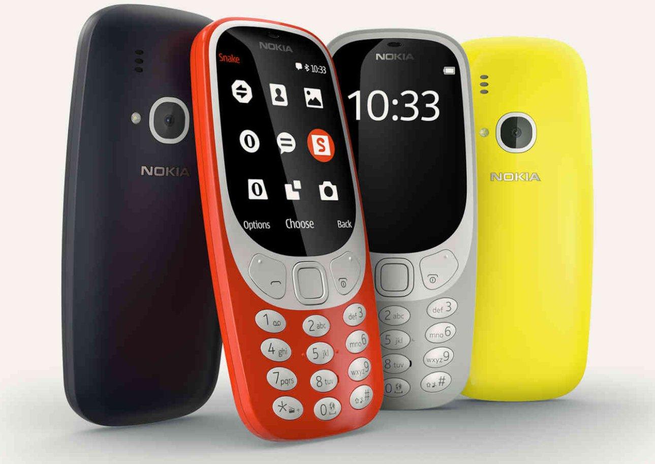 ВБарселоне представили новейшую версию знаменитого телефона нокиа 3310