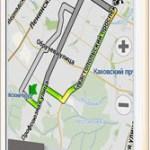 Навител Навигатор 9.8 c тремя альтернативными маршрутами для iPhone и iPad