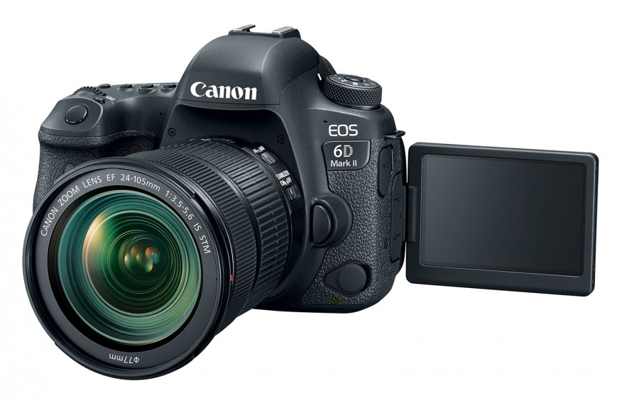 Официально представлена фотокамера Canon EOS 6D MarkII