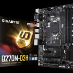 GIGABYTE обновляет BIOS плат Q270- и Q170-серии