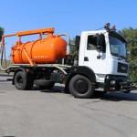 Универсальный КрАЗ будет чистить канализационные сети и дороги в Черкассах
