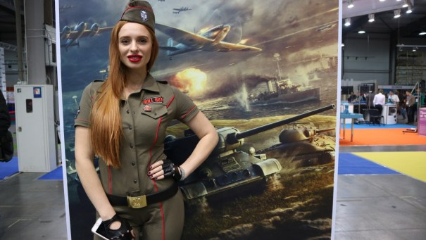 war girl World of Tanks