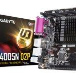 GIGABYTE выпускает материнскую плату с интегрированным процессором Intel Pentium Silver