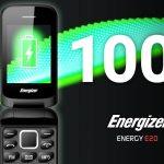 Energizer Energy E20 — раскладушка с мощной батареей