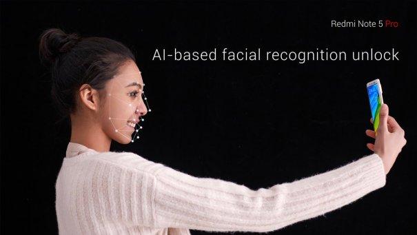 Redmi Note 5 Pro Face Unlock