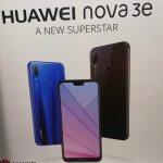 Huawei Nova 3e она же P20 Lite с полноэкранным дисплеем засветилась на видео
