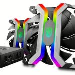 Deepcool MF 120 — безрамочный вентилятор с RGB-подсветкой