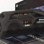 SVEN PS-470: недорогая беспроводная акустика с хорошим звуком и не только