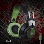 Новые геймерские наушники с микрофоном A4 Bloody J450