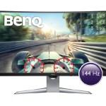 Новый изогнутый 31,5-дюймовый монитор BenQ EX3203R