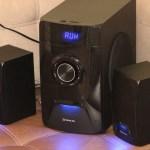 REAL-EL M-570 – акустика со встроенным МР3 и системой караоке