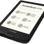 PocketBook Basic 616 — ридер с экраном E Ink Carta и подсветкой