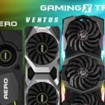 MSI представляет первые оригинальные версии видеокарт с графическими процессорами серии NVIDIA GeForce RTX