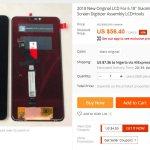 Всплыли дисплеи для Redmi Note 6 и Redmi 6 Plus
