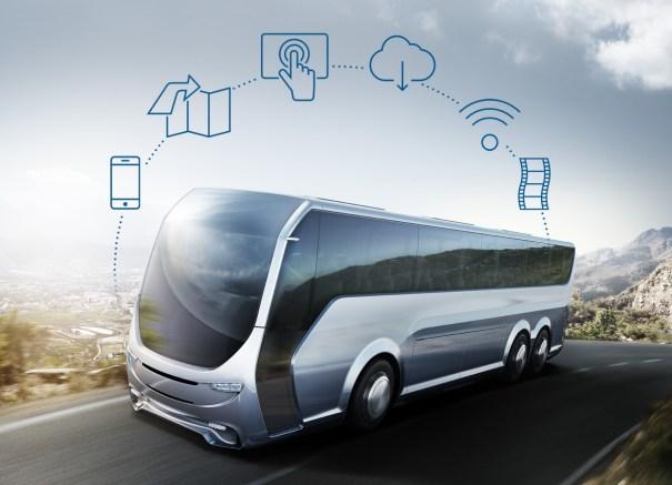 мультимедиа автобус