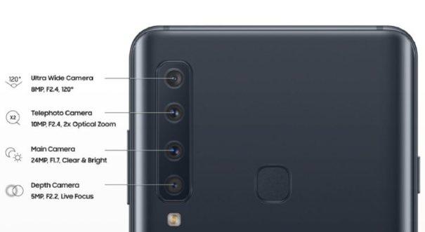 Samsung Galaxy A9 камеры