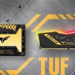 Team Group выпустила игровой накопитель RGB SSD и игровую память RGB совместно с игровым альянсом ASUS TUF