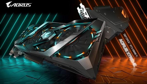 GIGABYTE анонсирует новые модели графических плат AORUS GeForce RTX 20-серии