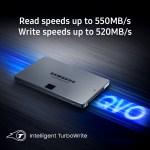 Samsung Electronics представила бюджетный мультитерабайтный накопитель 860 QVO
