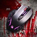 Игровая мышь Bloody J95: теперь и в сером цвете
