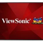 ViewSonic представляет новый коммерческий 50-дюймовый 4K дисплей