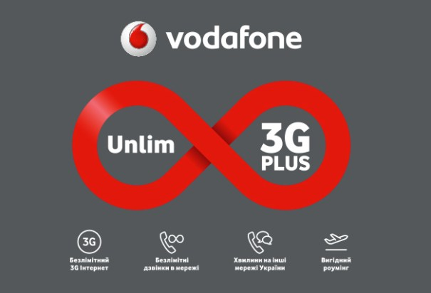 Vodafone Unlim 3G Plus