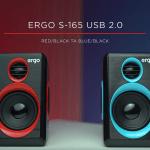 ERGO S-165 — новая мультимедийная акустика