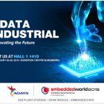 ADATA на Embedded World 2019 представит полную линейку индустриальных систем хранения