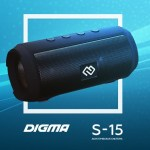 Беспроводная акустика DIGMA S-15
