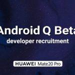 Huawei принимает заявки на тестирование бета-версии Android Q