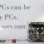 BIOSTAR выпустила материнскую плату A68N-5600E для работы и домашних развлечений