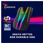 Внешние диски ADATA HDD HD770G и SSD SE800 получили награду Computex d&i Award