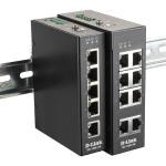 D-Link DIS-100E-8W и DIS-100E-5W — новые промышленные коммутаторы