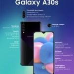Samsung объявляет о старте продаж Galaxy A30s в Украине