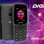 DIGMA LINX С170 – кнопочный телефон для звонков