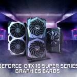 MSI представляет видеокарты серии GeForce GTX 16 SUPER
