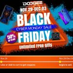 """В """"Черную пятницу"""" покупателей DOOGEE ждут 50% скидки"""