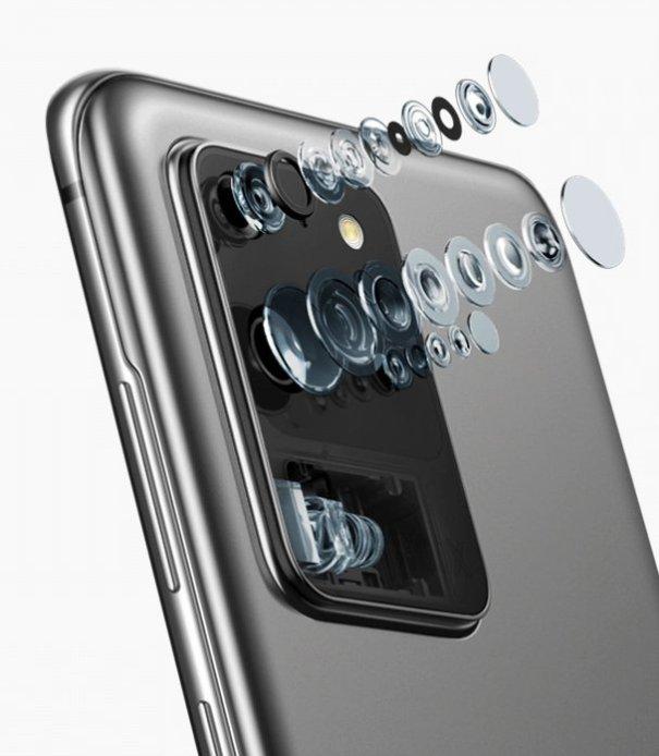 Samsung Galaxy S20 и Galaxy S20 Plus камера