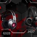 Игровые гарнитуры Bloody G525 и J437