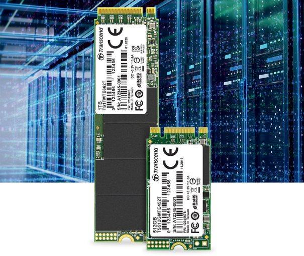Transcend представляет твердотельные NVMe-накопители с использованием BiCS4