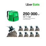 Uber Eats: год работы сервиса доставки еды в Украине