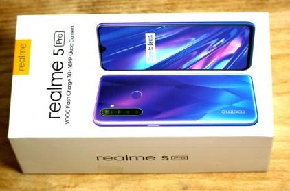 коробка realme 5 pro