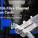 Двухпортовые сетевые адаптеры Fibre Channel 16 и 32 Гбит/c от QNAP