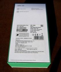 Oppo A31 коробка
