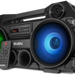 Портативная акустика SVEN PS-580 — наследница бумбоксов