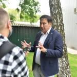 Саакашвили во время визита в GigaCenter предложил отдать госуслуги на аутсорс бизнесу