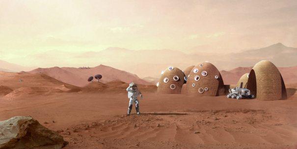 3D-печать для строительства на Марсе